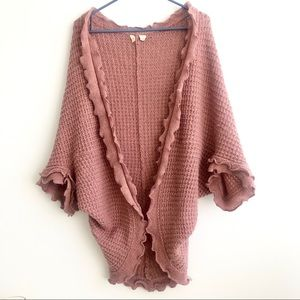 Anthropologie Moth boho chic cardigan size S